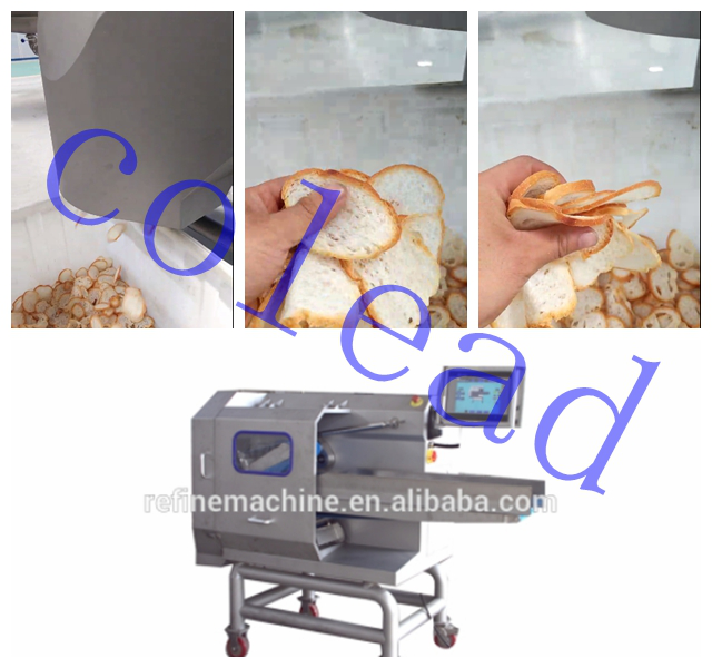 Testing Belt Cutting Machine for Bread